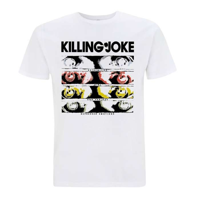 Extremities White T-Shirt - Killing Joke