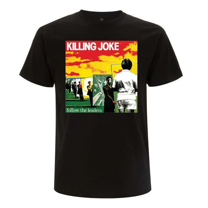 Follow The Leaders Black T-Shirt - Killing Joke