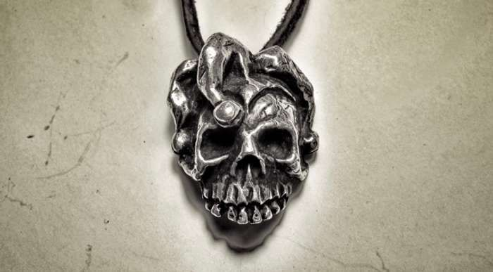 Jester Skull Medallion - Killing Joke