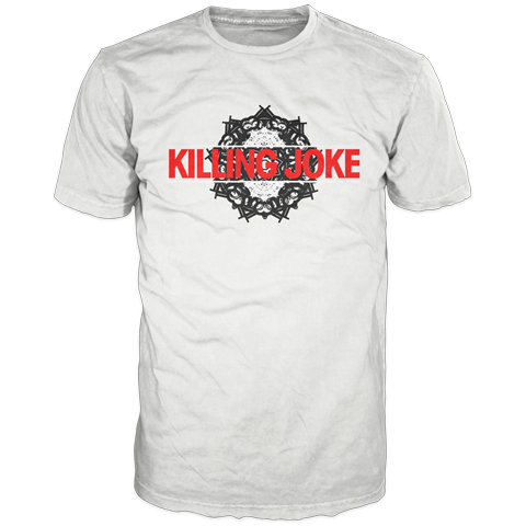 Kaleidoscope White T-Shirt - Killing Joke