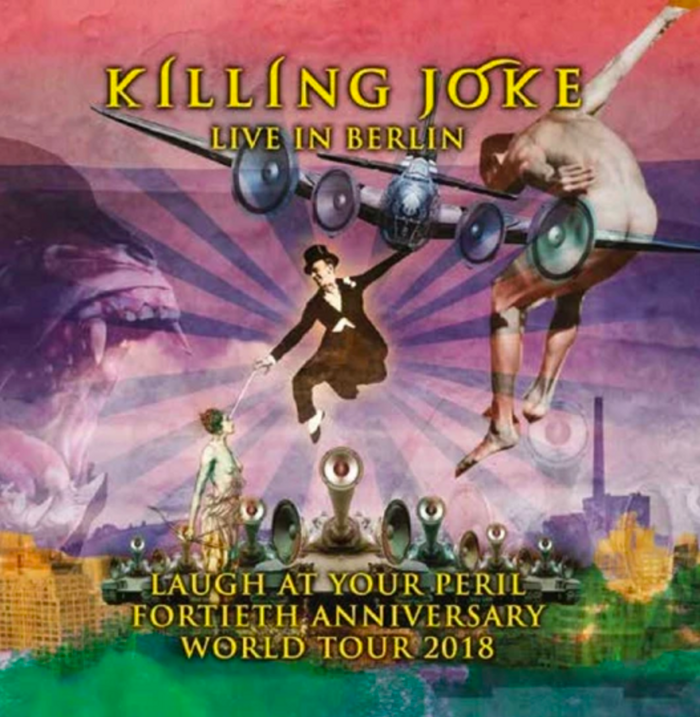 Killing Joke 'Live In Berlin' - Triple Pink Laser Etched Vinyl *Limited Edition* - Killing Joke