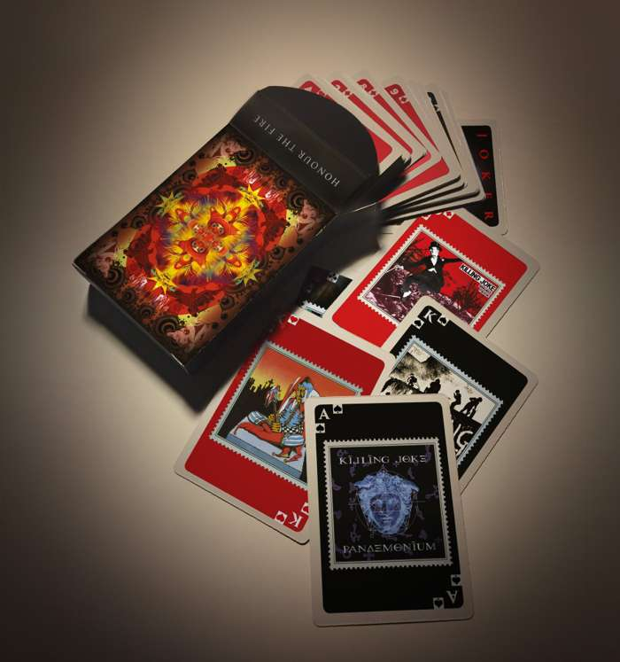 Killing Joke Playing Cards - Killing Joke