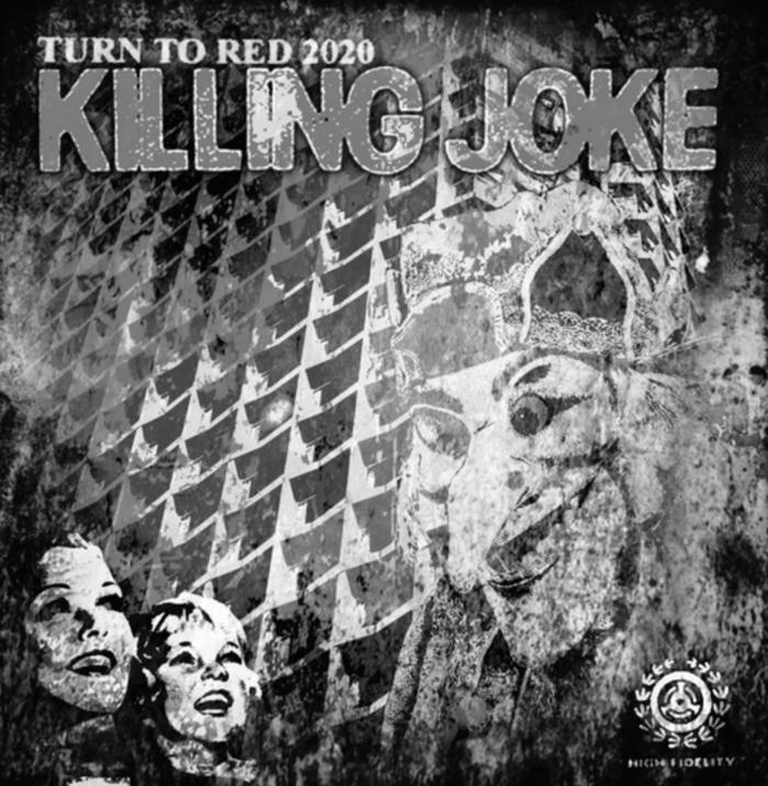 """Killing Joke - Turn To Red 2020 Black & White Sleeve 12"""" Vinyl - Killing Joke"""