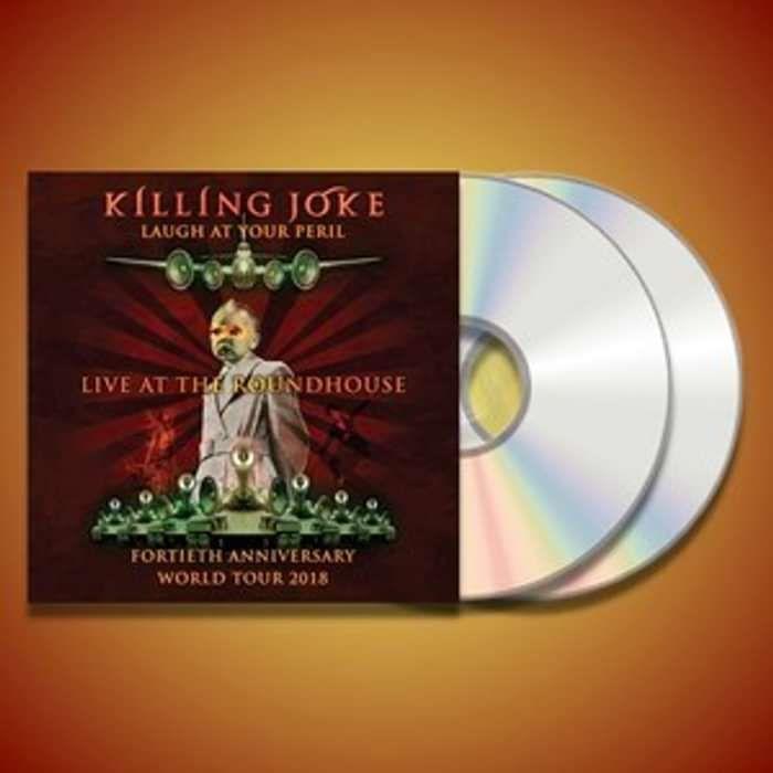 Laugh At Your Peril - Live In London 2018 CD - Killing Joke