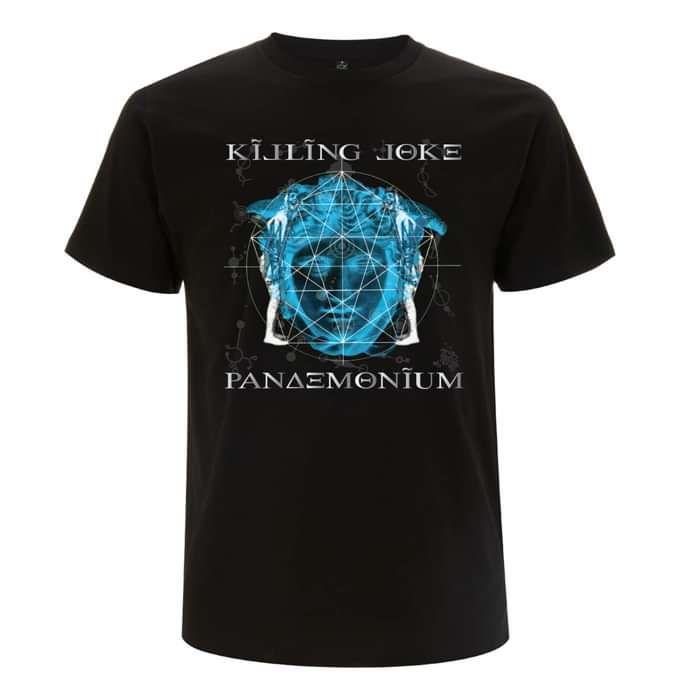 Pandemonium Black T-Shirt - Killing Joke