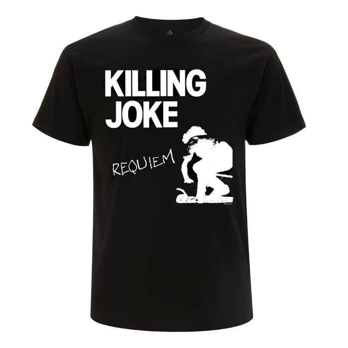 Requiem Black T-Shirt - Killing Joke
