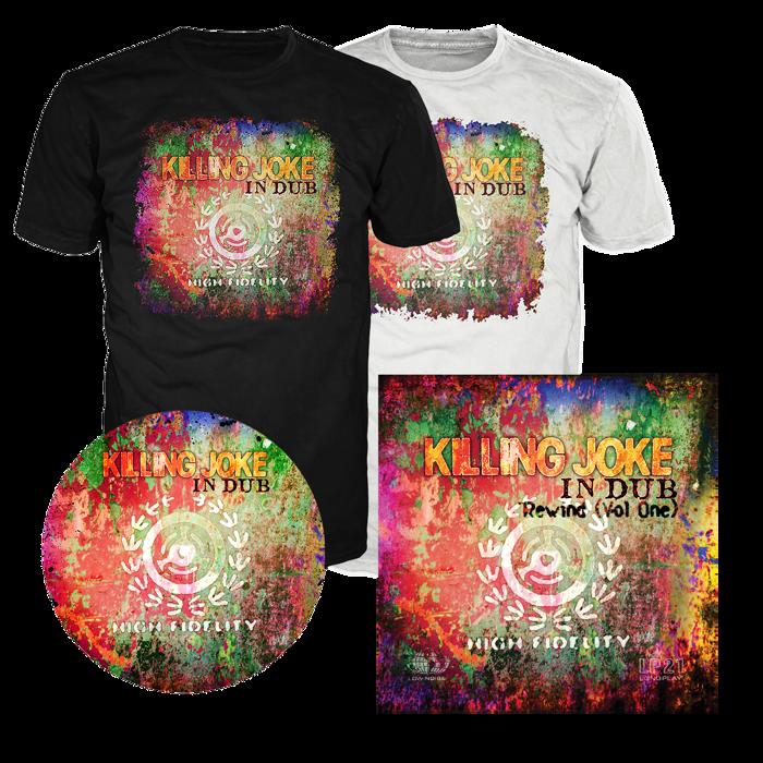 T-shirt + Music + Slipmat Bundle - Killing Joke