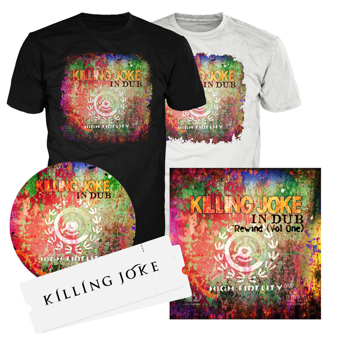 Ticket + Music + Slipmat + T-shirt Bundle - Killing Joke