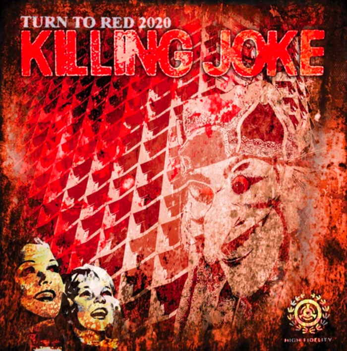 "Turn To Red 2020 Limited Edition 12"" Red Vinyl - Killing Joke"