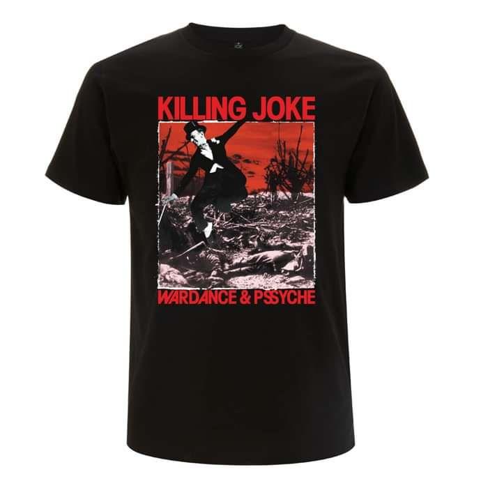 Wardance Black T-Shirt - Killing Joke