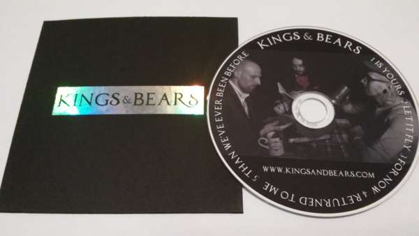 Kings & Bears EP (CD) - Kings & Bears