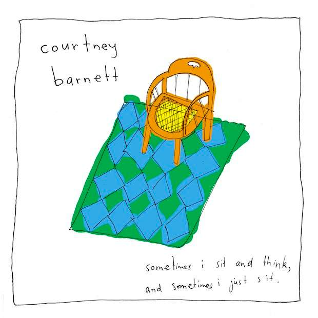 COURTNEY BARNETT - SOMETIMES I SIT AND THINK, AND SOMETIMES I JUST SIT (KISS050) - Kissability