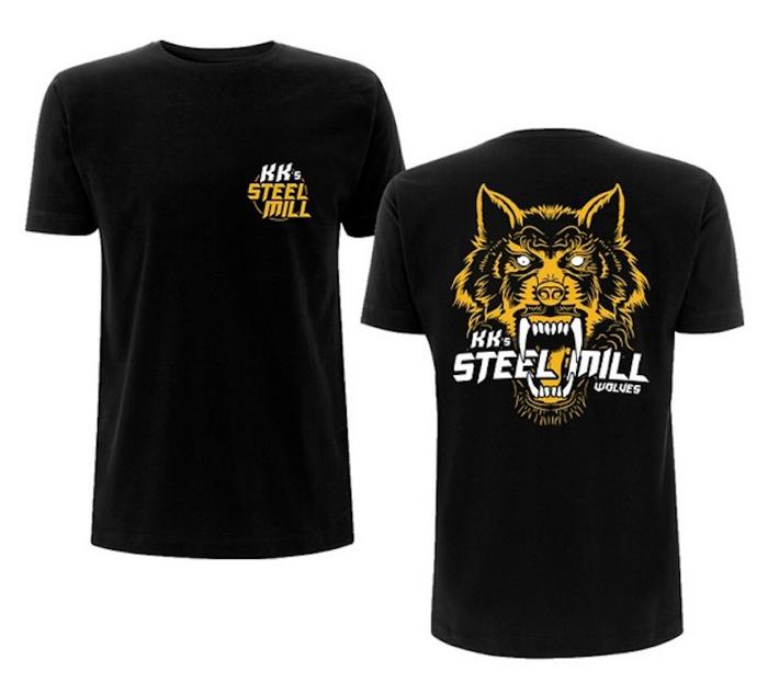 Wolf Design T'Shirt - KK's Steel Mill