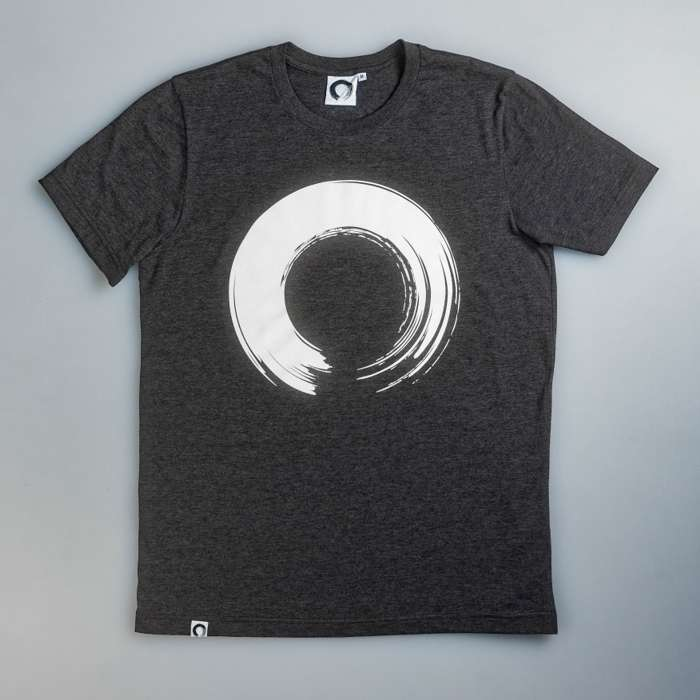 'Enso' Charcoal T-Shirt - KOAN Sound USD