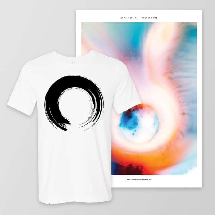 'Enso' T-Shirt + A2 Poster - KOAN Sound USD