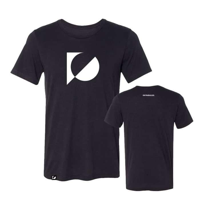 'In Parallel' Black T-Shirt - KOAN Sound USD