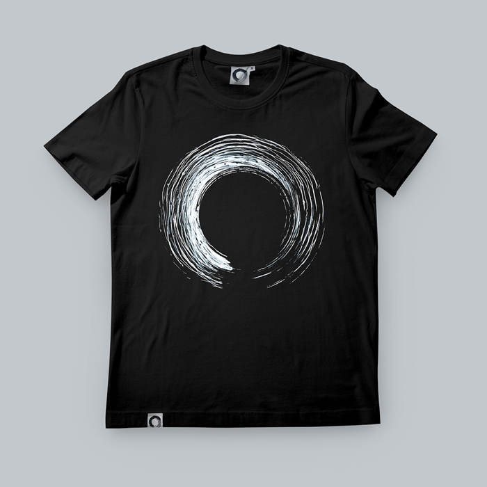 'Enso' Black T-Shirt - KOAN Sound