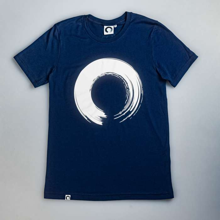 'Enso' Navy T-Shirt - KOAN Sound