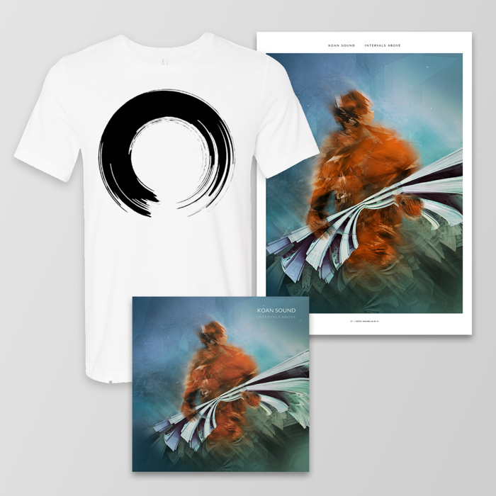"Intervals Above 12"" + Poster + T-Shirt - KOAN Sound"