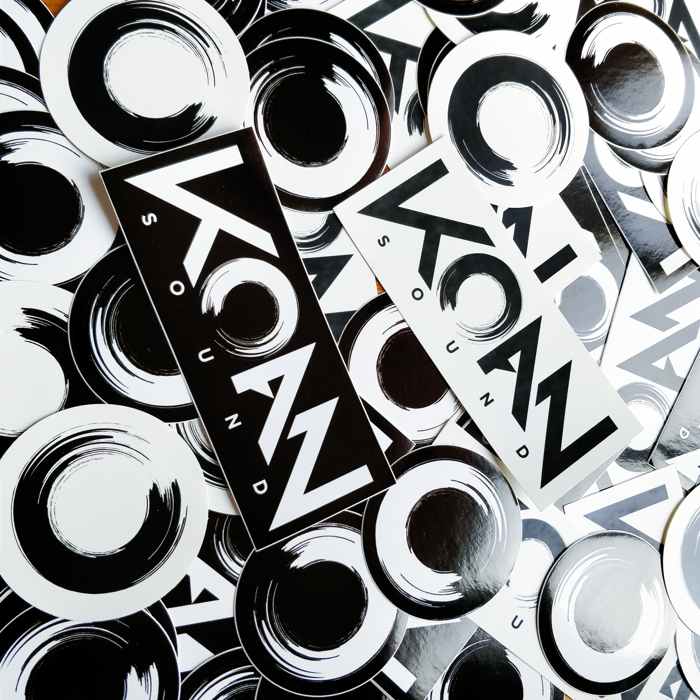 Logo Stickers - KOAN Sound