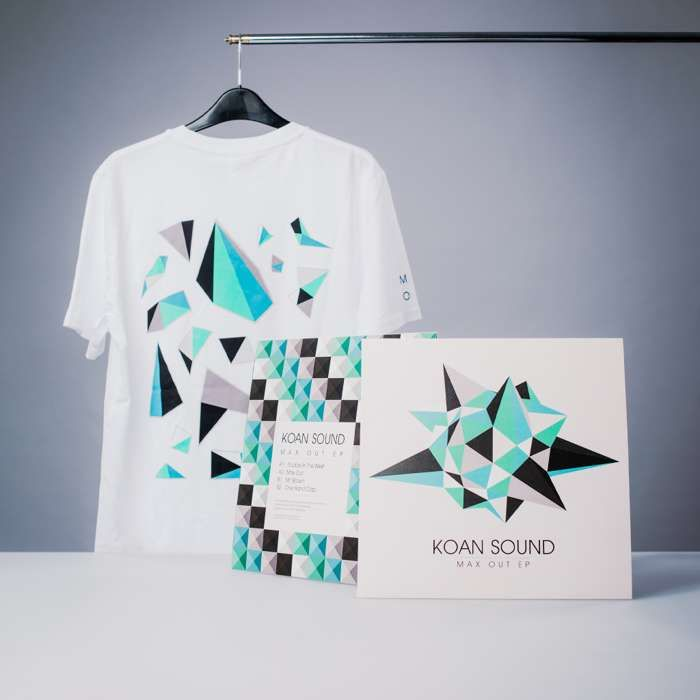 "Max Out 12"" + T-Shirt + Digital Album Bundle - KOAN Sound"