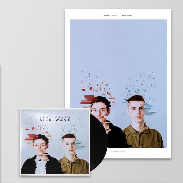 "Silk Wave 12"" + Poster + Digital Album - KOAN Sound"