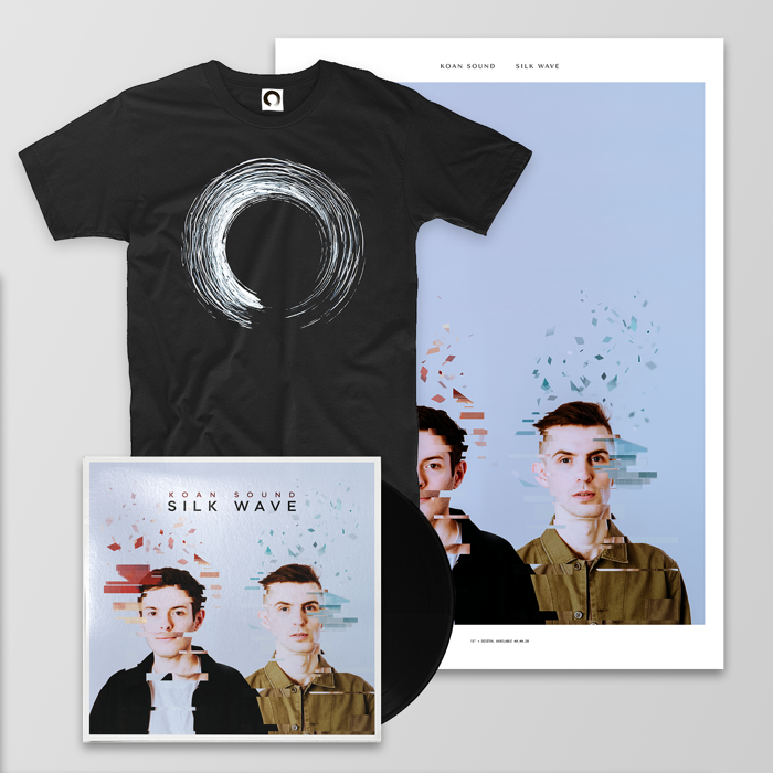 "Silk Wave 12"" + Poster + T-Shirt + Digital Album - KOAN Sound"