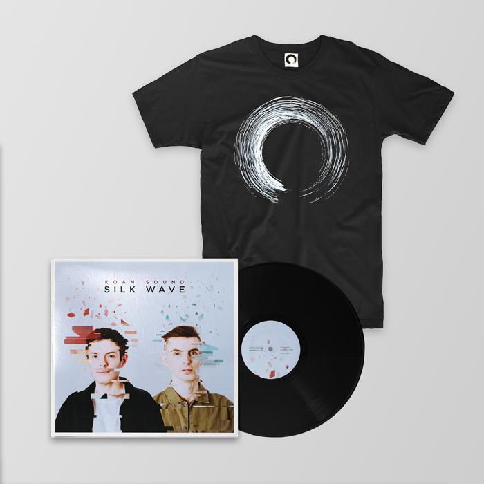 "Silk Wave 12"" + T-Shirt + Digital Album - KOAN Sound"