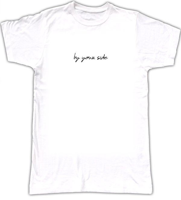 """By Your Side"" - Womens T-Shirt - Kosoti"