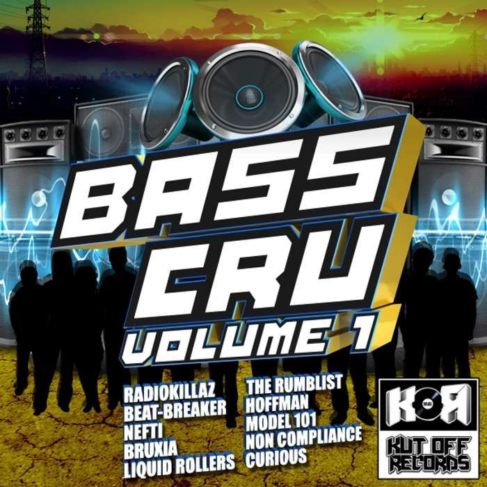 Bass Cru Volume 1 - KOR025 - KUT OFF RECORDS