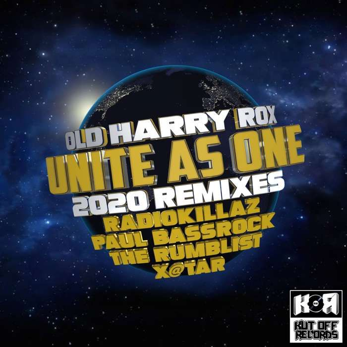 Old Harry Rox / Unite As One 2020 Remix E.P / KOR038 - KUT OFF RECORDS