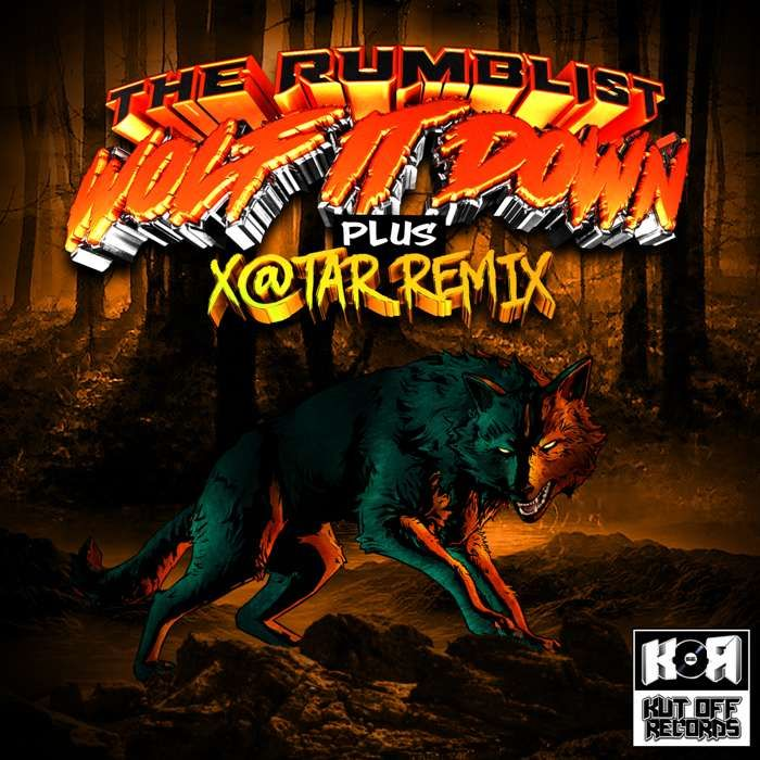 The Rumblist / Wolf It Down E.P / Kut Off Records - KUT OFF RECORDS