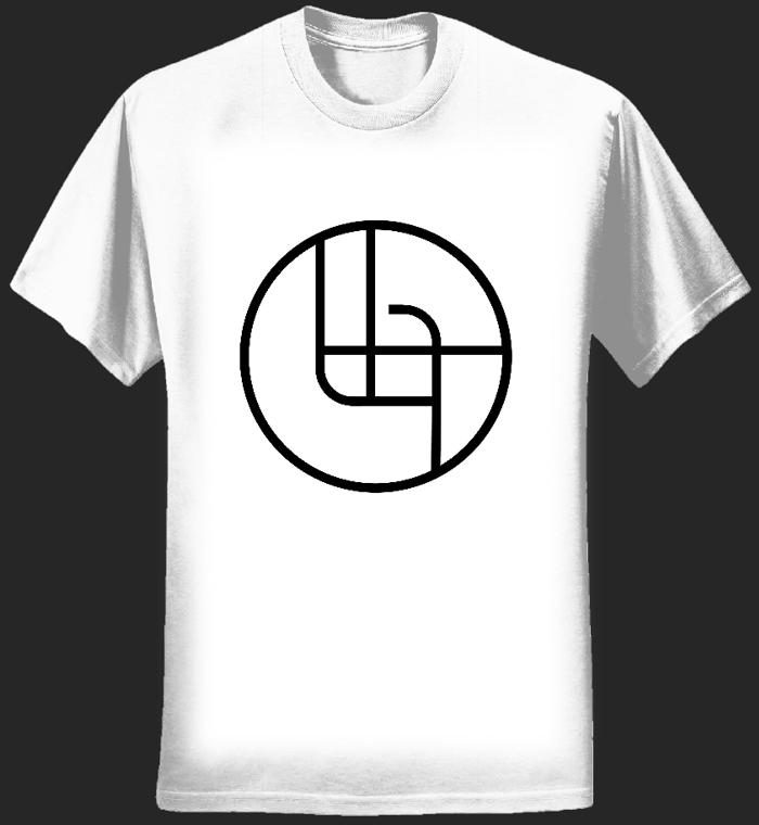 2018 Circle Logo Shirt (White Men's) - Ladytron