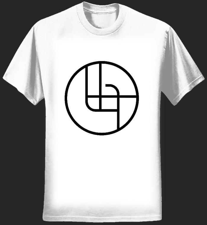 2018 Circle Logo Shirt (White WMNS) - Ladytron