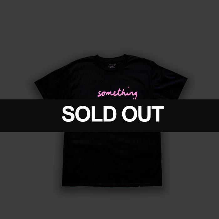 Black 'Something Beautiful' T-shirt - Larkins