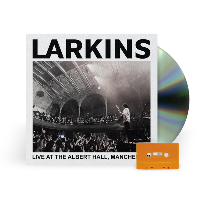 (CD + CASSETTE) Live At The Albert Hall, Manchester [Pre-Order] - Larkins