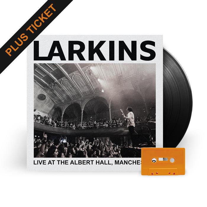 Dingwalls Ticket + Vinyl Live Album (50% off!) - Larkins