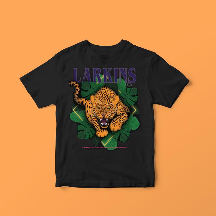 Leopard Tee - Larkins