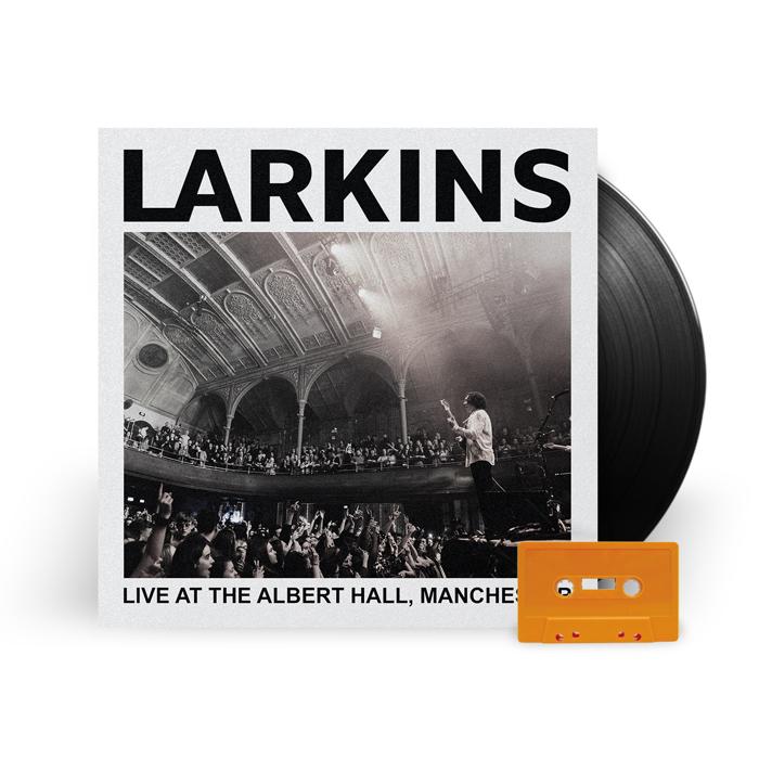 (Vinyl + CASSETTE) Live At The Albert Hall, Manchester [Pre-Order] - Larkins