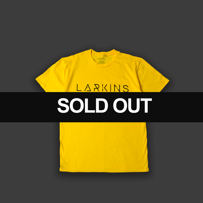 Yellow Logo T-shirt - Larkins