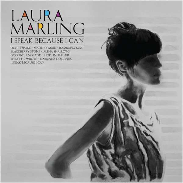 I Speak Because I Can CD - Laura Marling Merch
