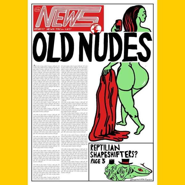 NEW - 'Front Page Nude' - Print - Lauran Hibberd