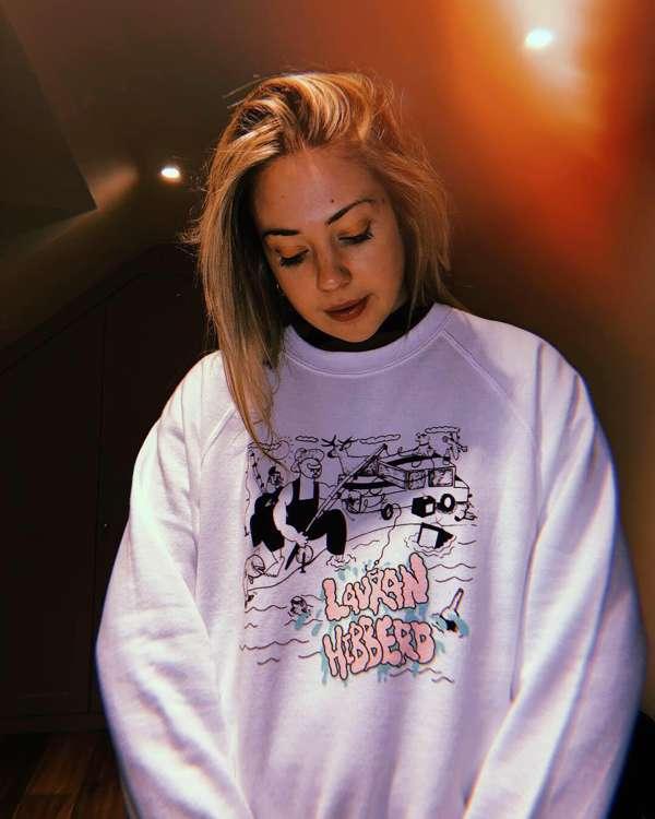 'The big fish' sweatshirt - Lauran Hibberd