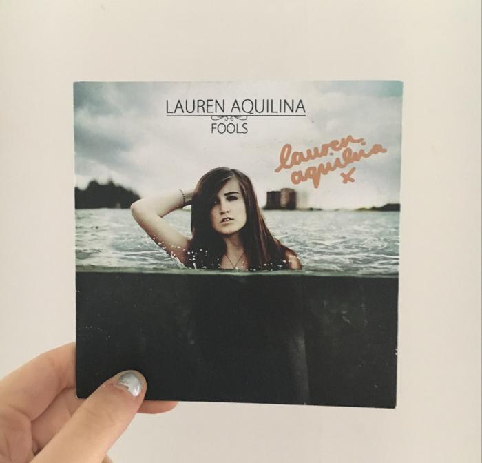Fools EP (Signed) - Lauren Aquilina