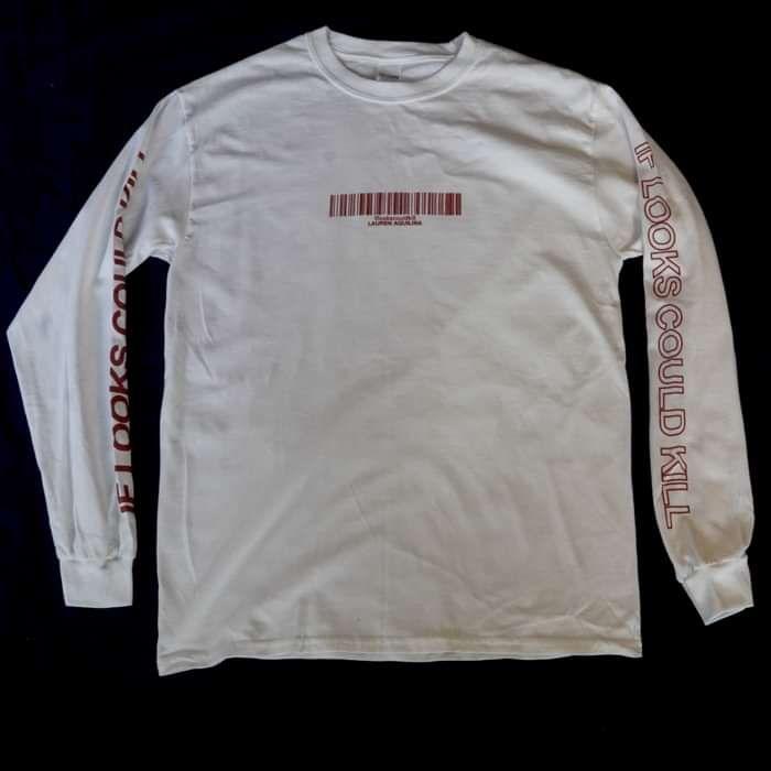 If Looks Could Kill - Long Sleeve T-Shirt - Lauren Aquilina
