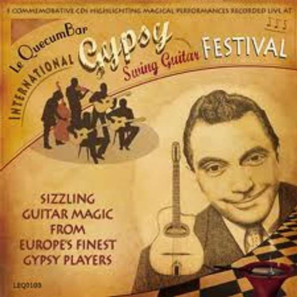 Le QuecumBar International Gypsy Swing Festival Triple CD - Le QuecumBar & Brasserie