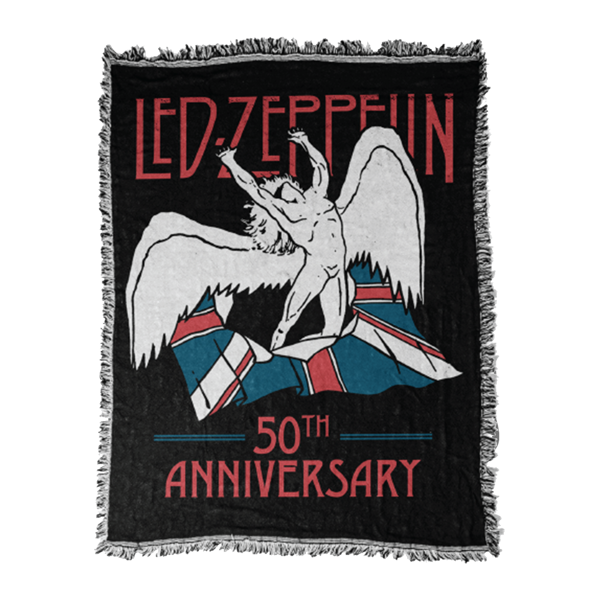 Led Zeppelin 50th Anniversary Blanket Led Zeppelin
