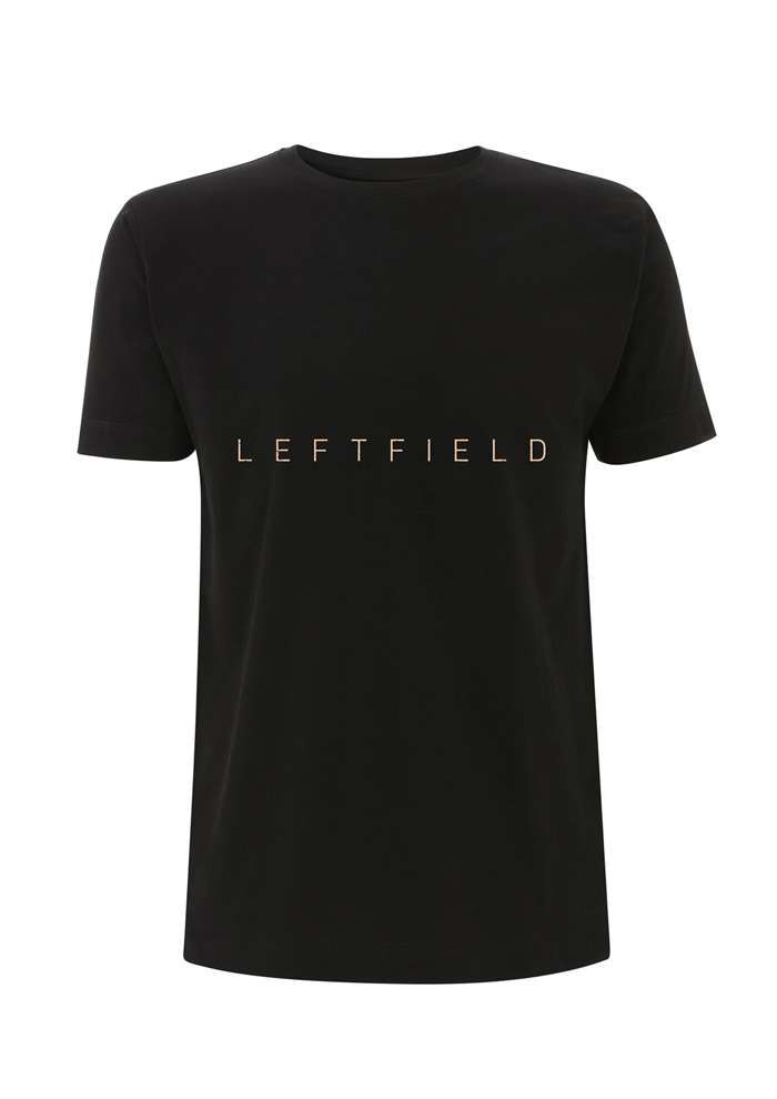 SALE PRICE - Logo Tour - Black Tee - Leftfield