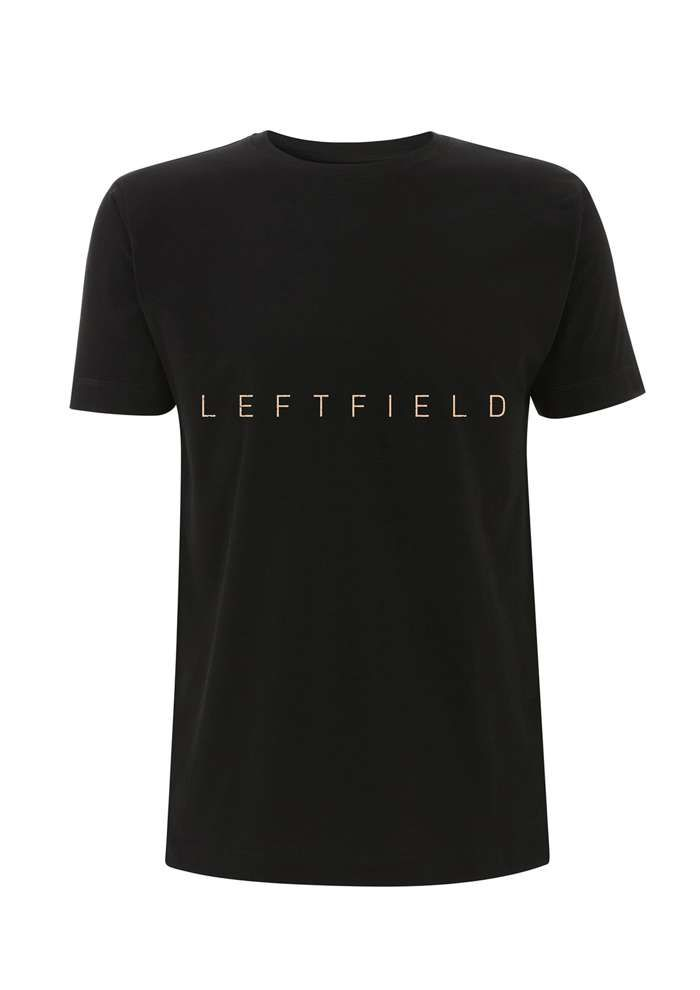 SALE PRICE - The Paradiso - Black Tee - Leftfield