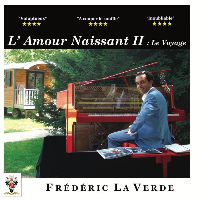 """L' AMOUR NAISSANT 2 : """" Le Voyage """"   CD Album - Le Piano Rouge"""